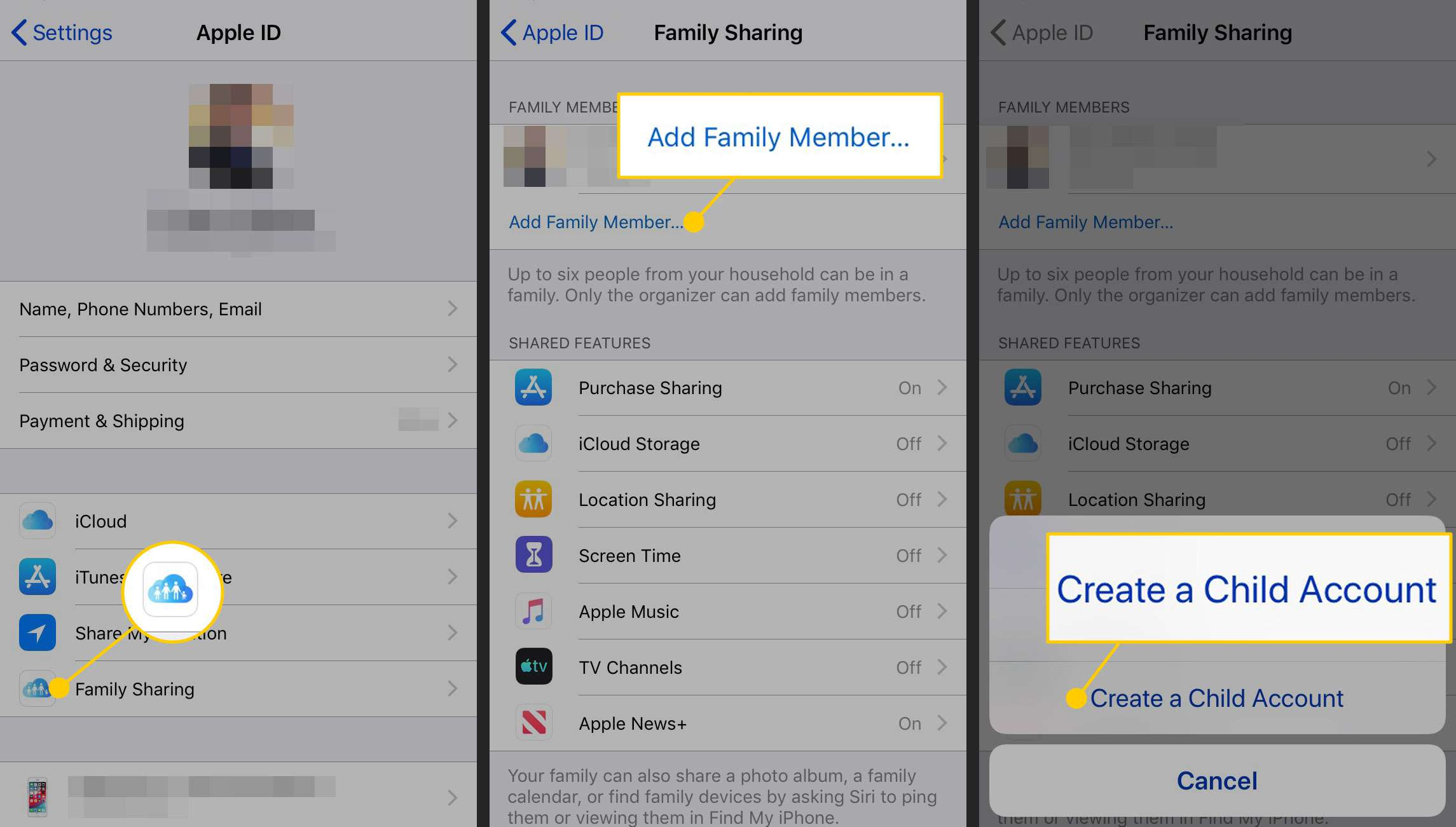 How to Create an Apple ID for a Child