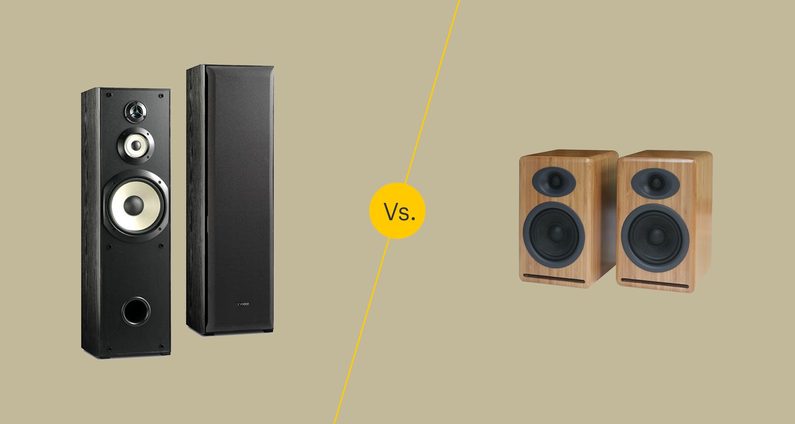 Floor Standing Vs Bookshelf Loudspeakers Which Is Best