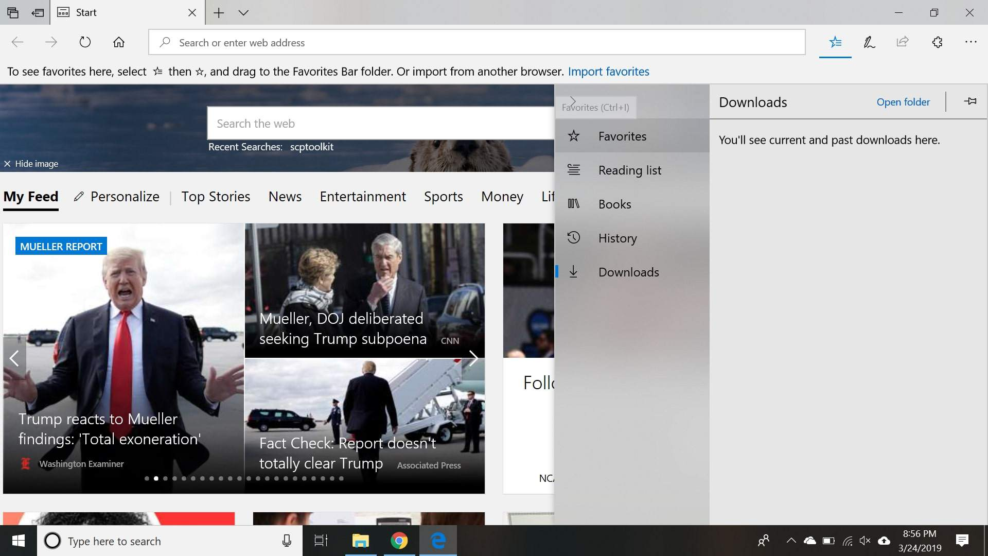 How to Show the Favorites Bar in Microsoft Edge