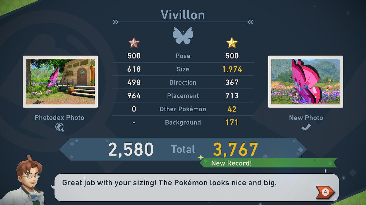 Screenshot from 'New Pokemon Snap.'