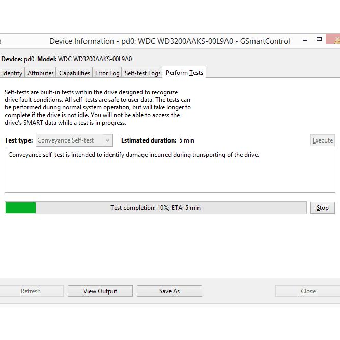 GSmartControl v1 1 3 Review (A Free HD Testing Program)
