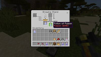 Potion of Poison in Minecraft