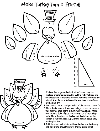 Favorite sites for thanksgiving coloring pages thanksgiving coloring pages from crayola