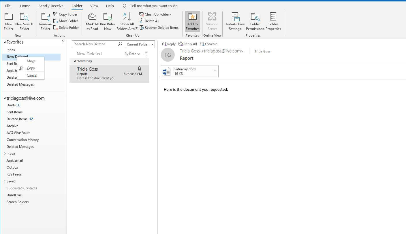 Forward Multiple Emails Individually in Outlook
