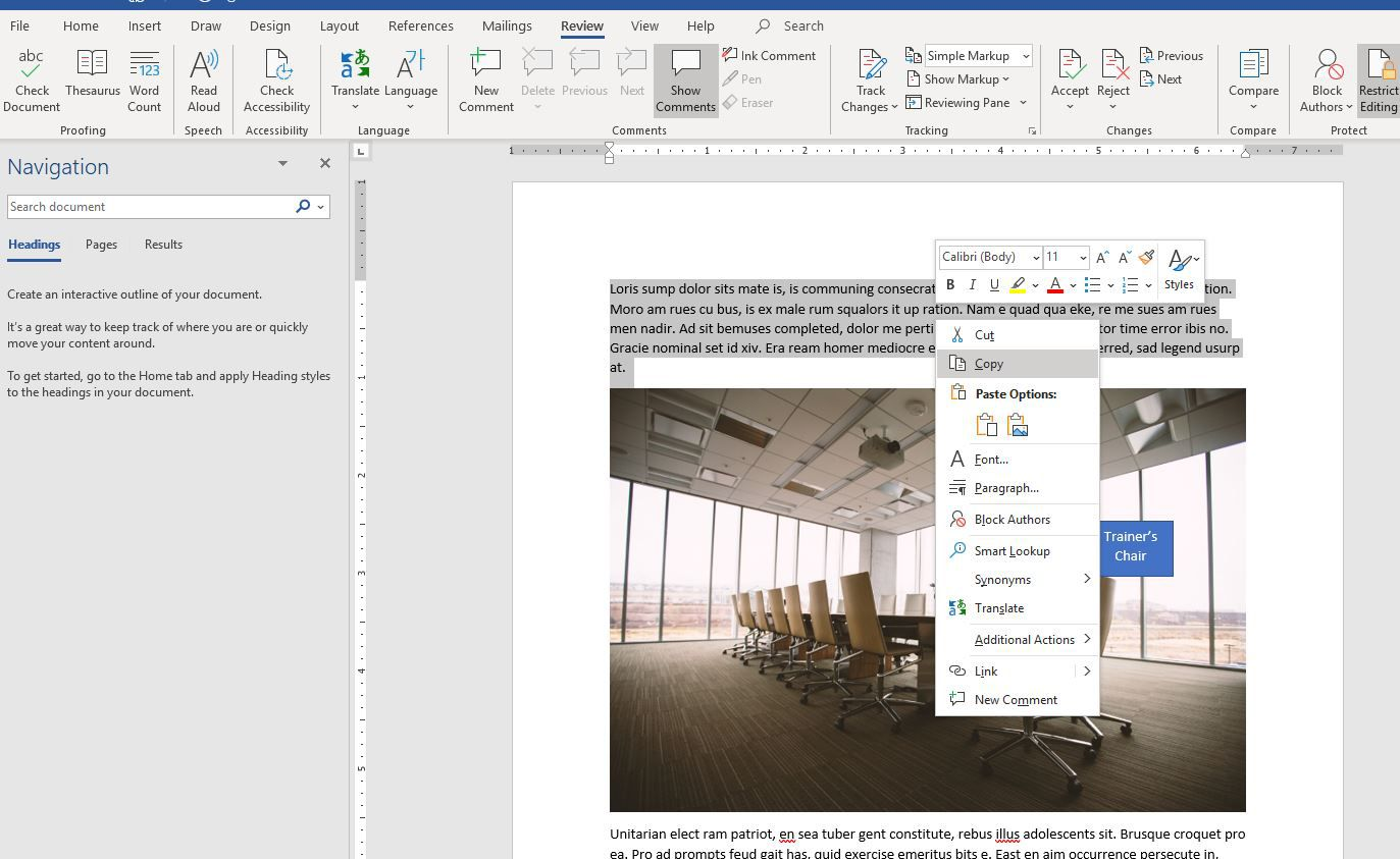 How to Use Linked Text to Update Word Docs