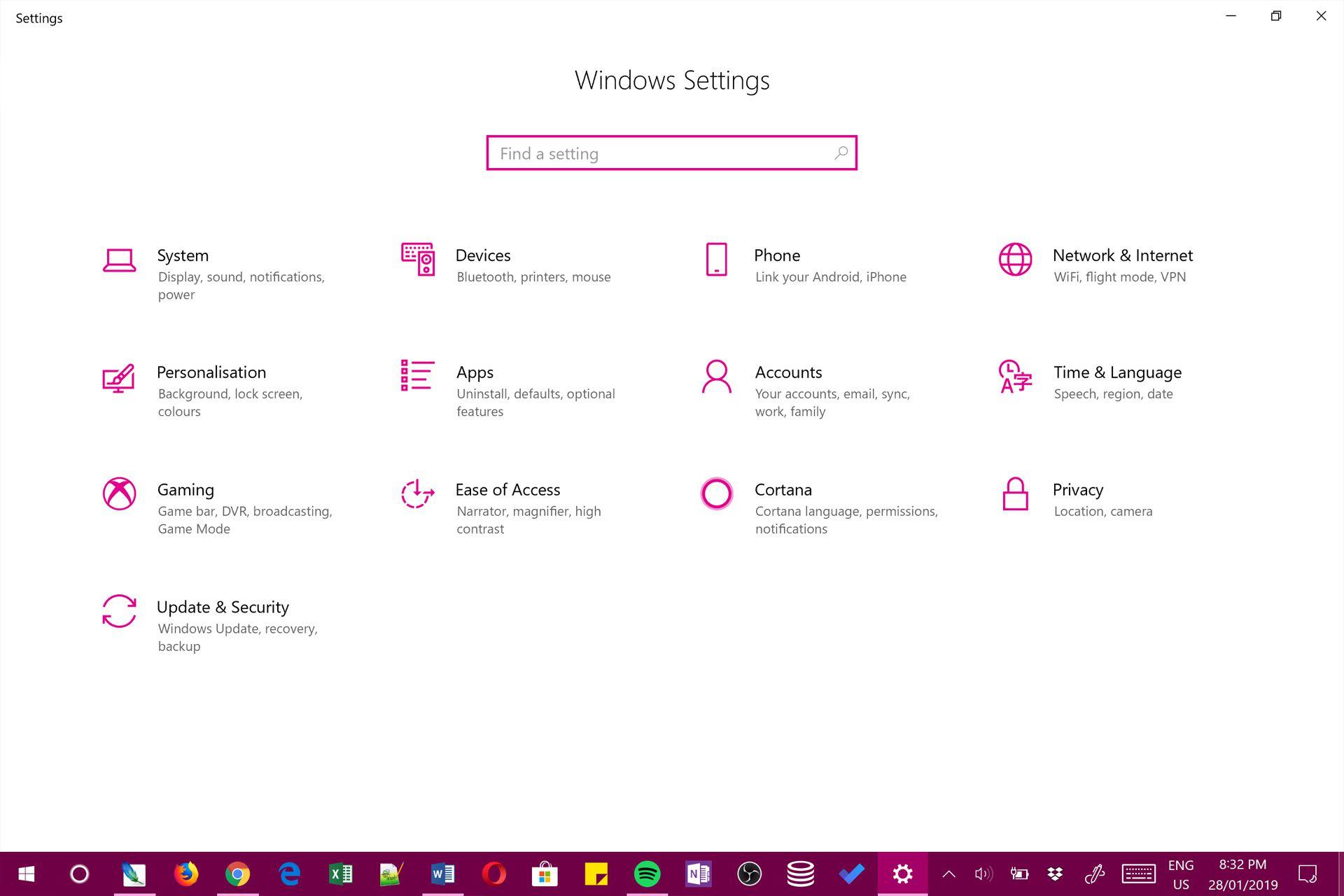 windows 10 forget network location