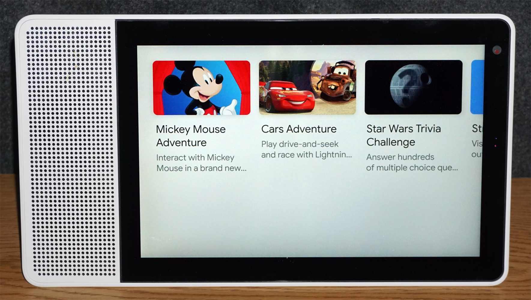 Lenovo Google Smart Display – Games