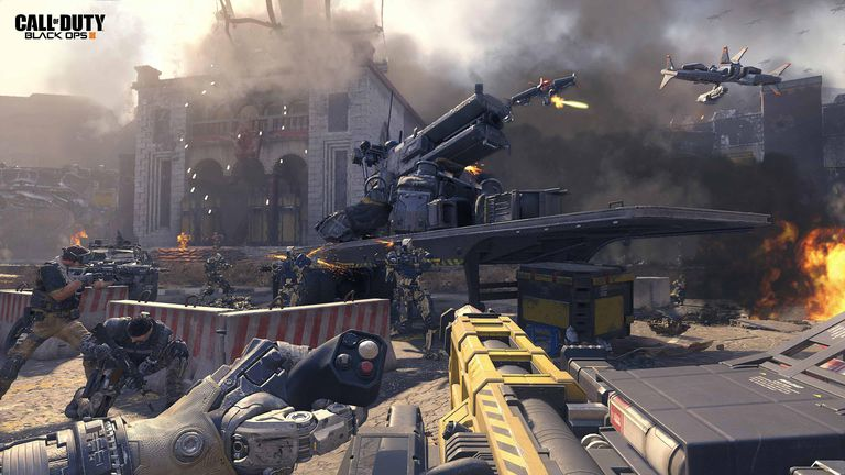 Call of Duty: Black Ops III Screenshot - Street Fight