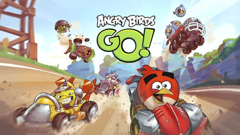 Angry Birds GO! cover art