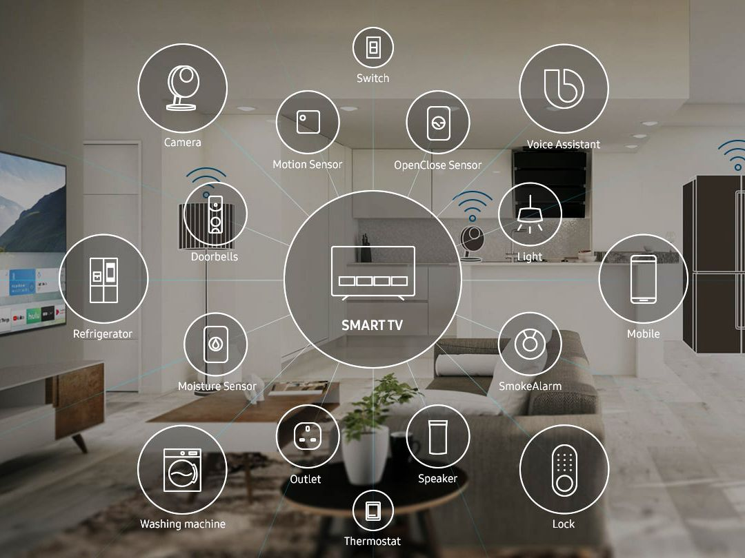 Samsung: Discover SmartThing-Enabled TVs