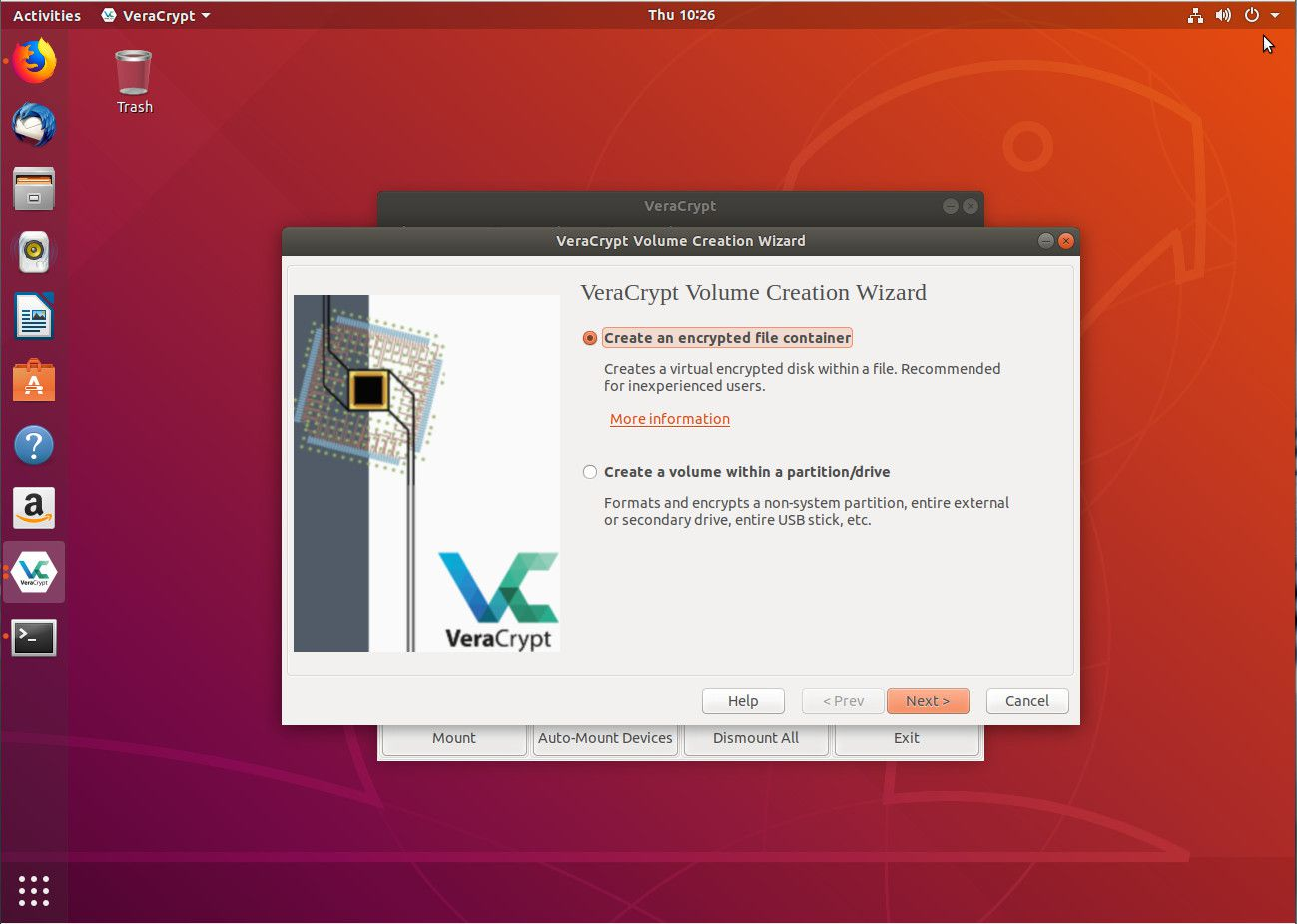 How to Encrypt Linux Partitions With VeraCrypt