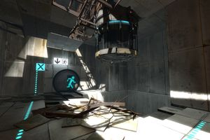 Screenshot from Portal 2