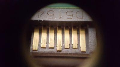 Close up of a Sata Connector