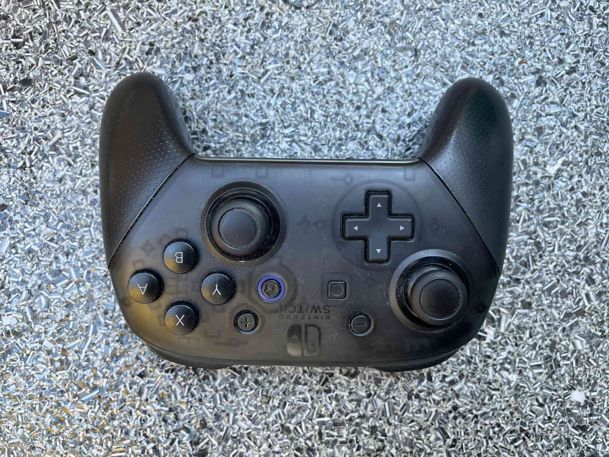 The Nintendo Pro Switch Controller.
