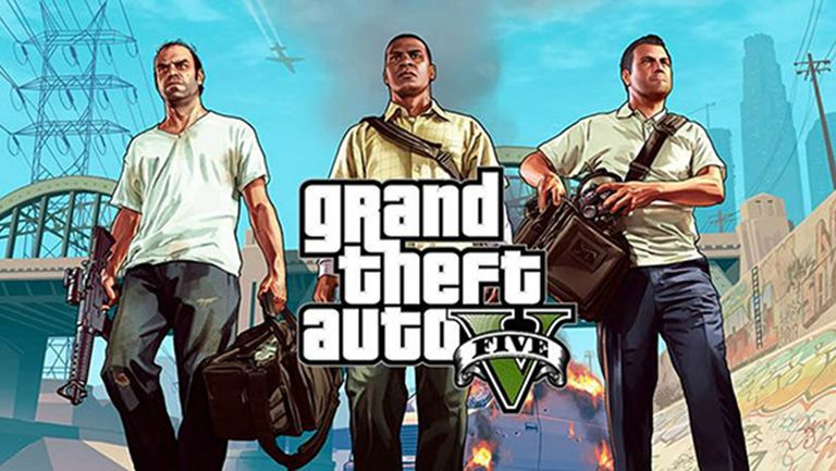 A screenshot from Grand Theft Auto Five.