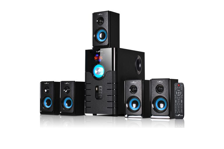 Image of beFree Sound 5.1 Channel Surround Sound Bluetooth Speaker System