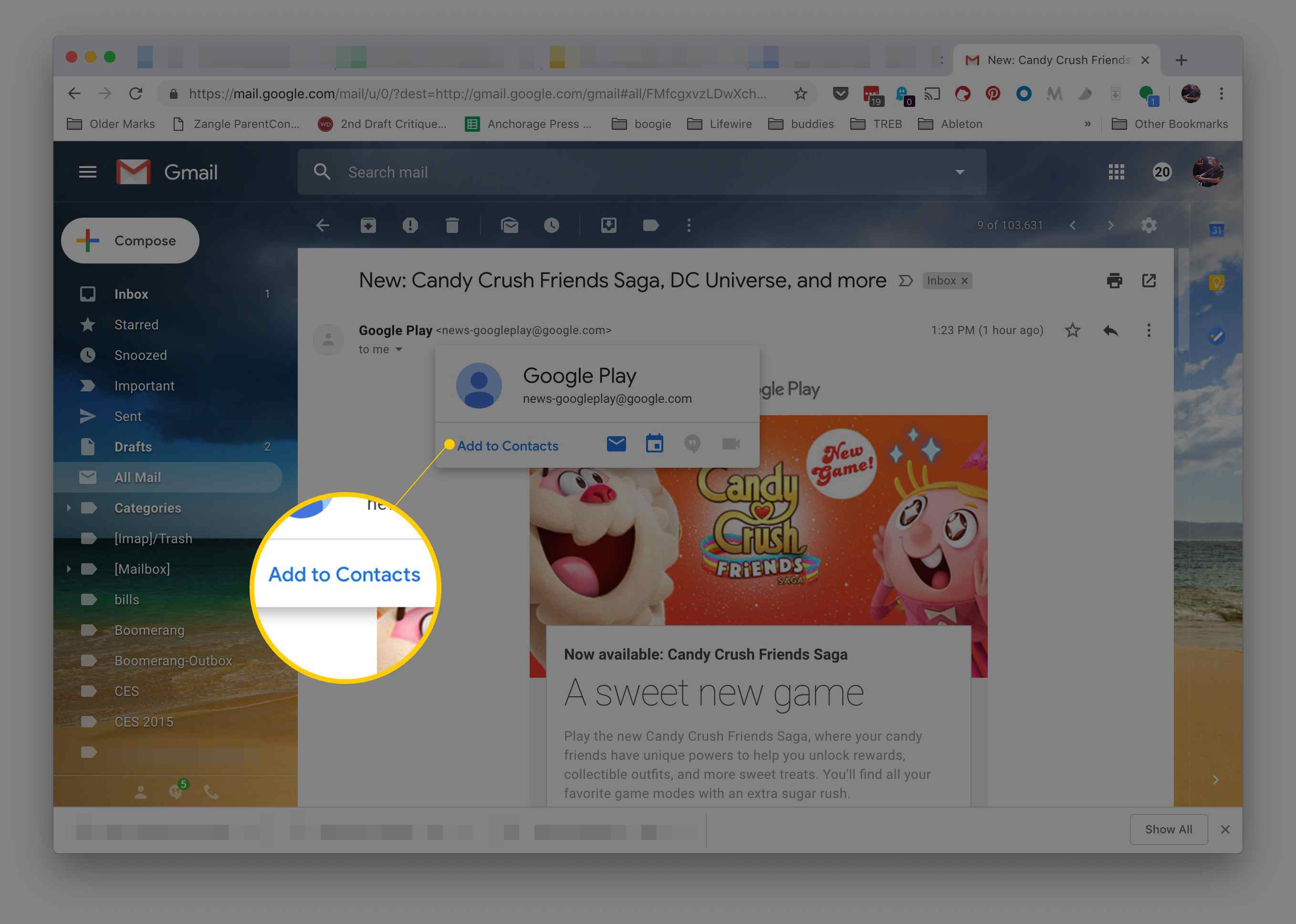 How to Add an Email Address to Your Gmail Contacts Quickly