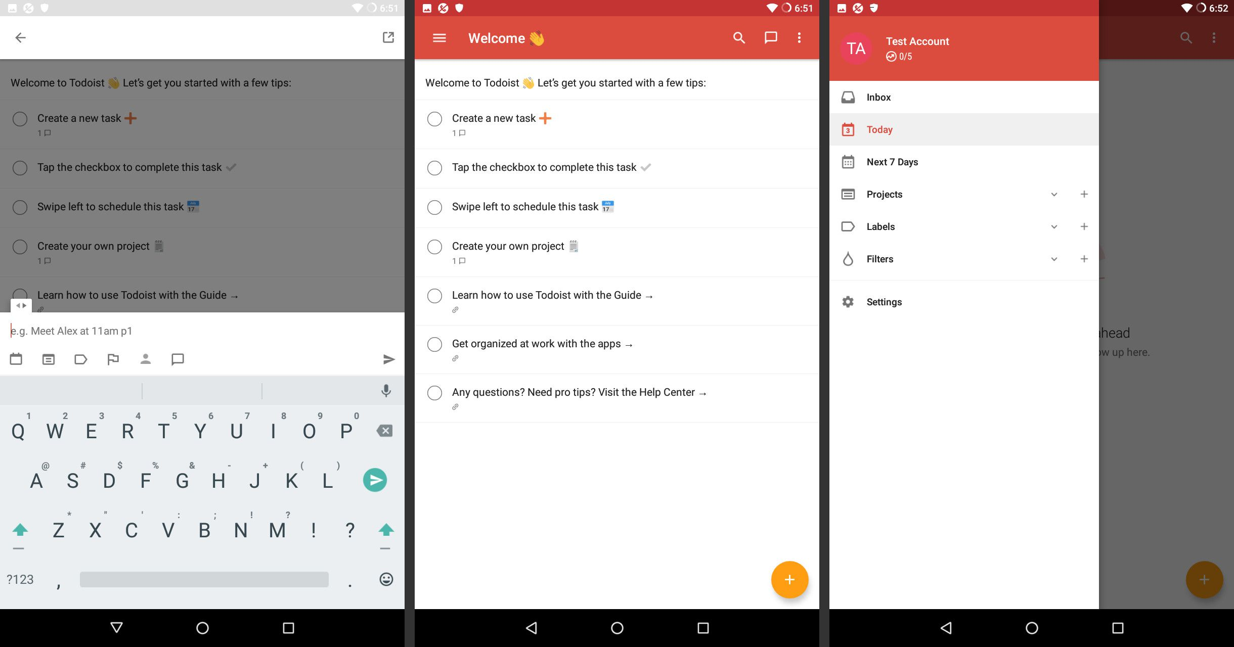 Android Todoist