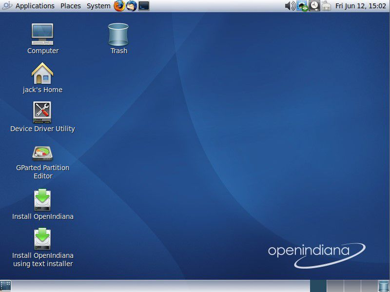OpenIndiana's MATE Desktop