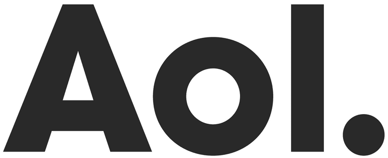 Screenshot of AOL logo