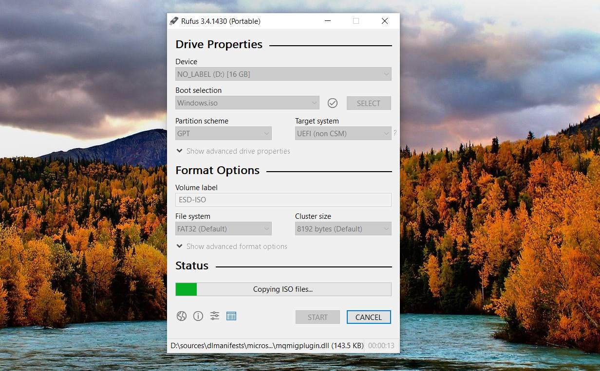 How to Burn an ISO File to a USB Drive