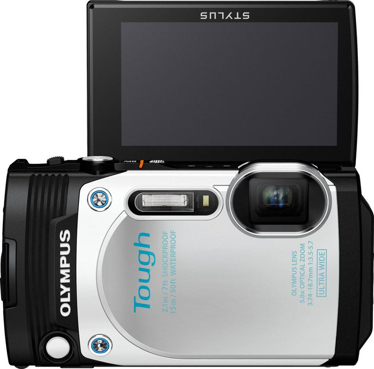 The Olympus Tough TG-870 includes the latest GPS technology, making it easier than ever to for camera geotagging.