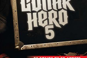 Guitar Hero 5 PS2 box cover