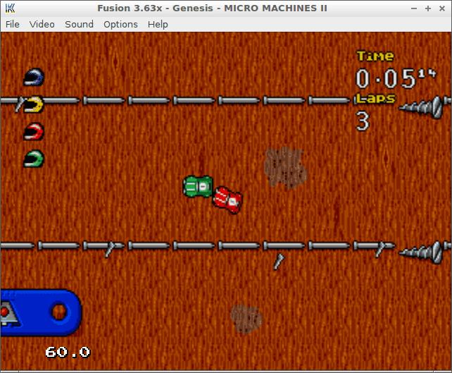KEGA Fusion game emulator