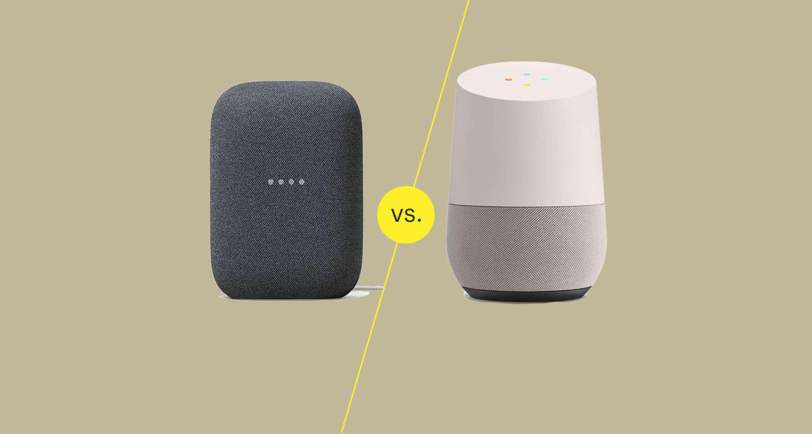 Google Home vs. Nest Audio