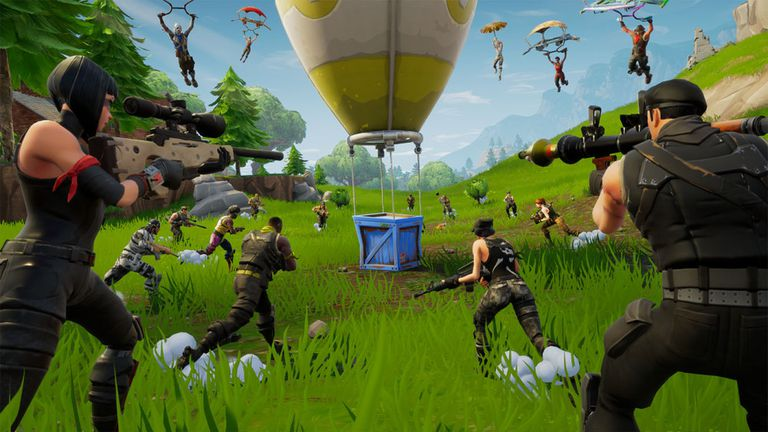 Screenshot of Fortnite
