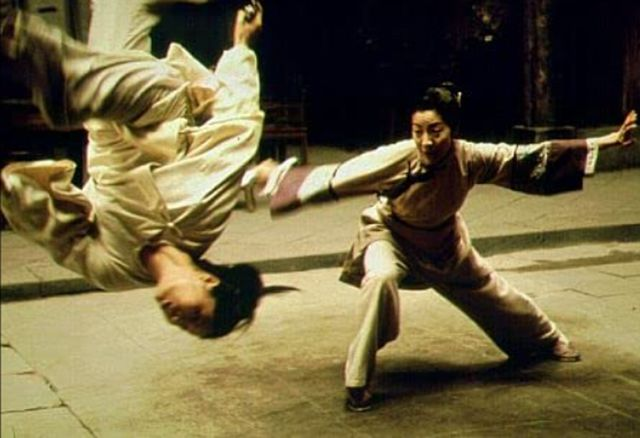 Michelle Yeoh and Ziyi Zhang in 'Crouching Tiger, Hidden Dragon.'