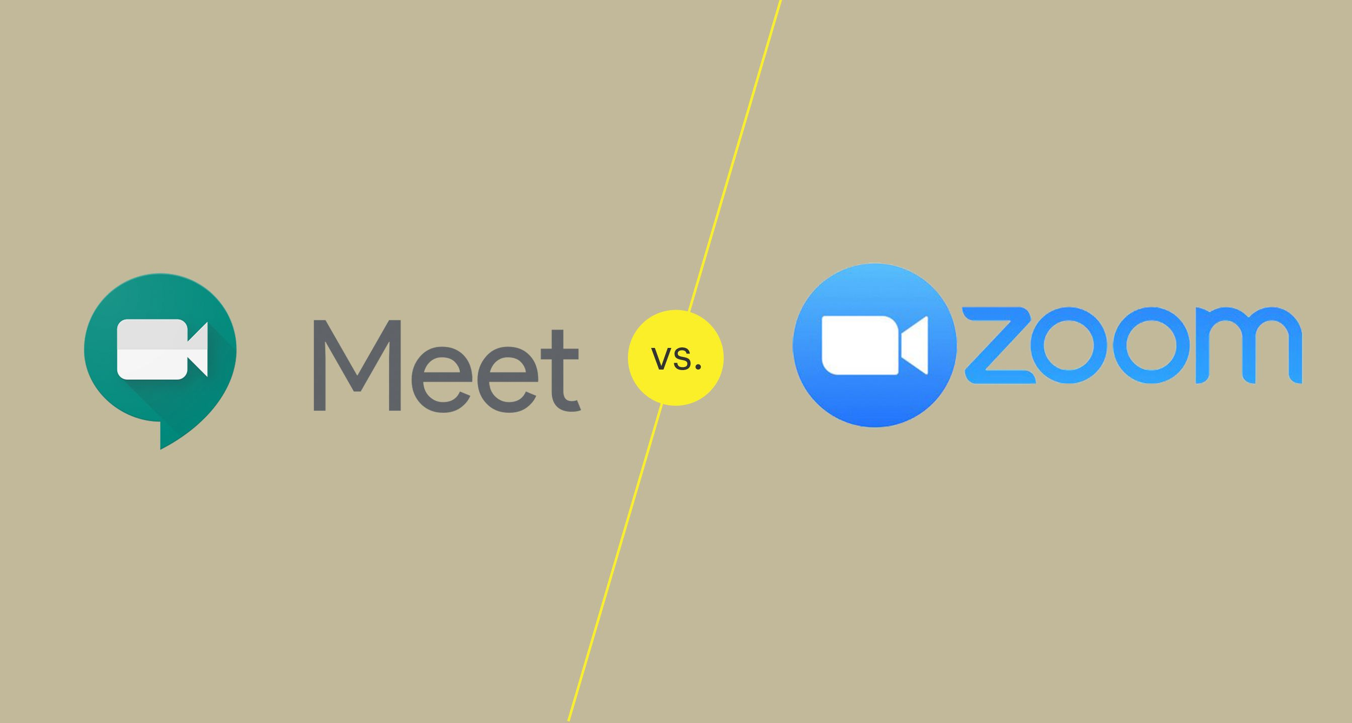 Google Meet vs. Zoom: What's the Difference?