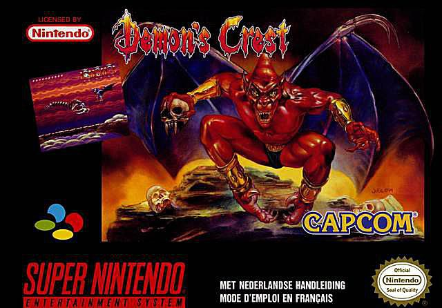 Demon's Crest Cheats and Codes for SNES