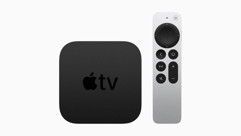 Apple TV 4K sixth generation with Siri Remote.