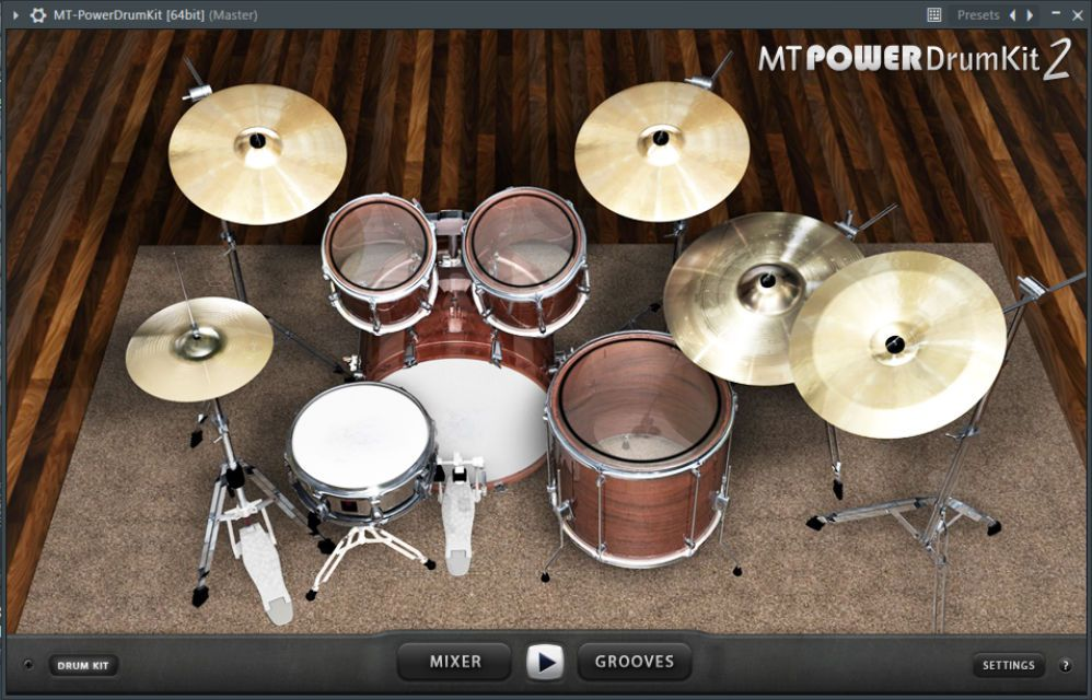 The MTPower DrumKit VST