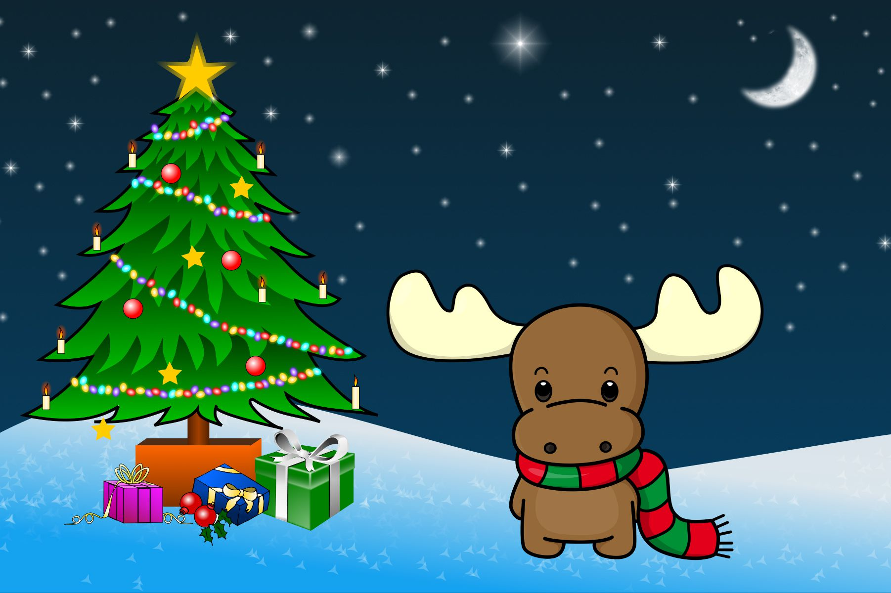 Christmas Desktop Wallpaper for Mac, Windows, and Linux