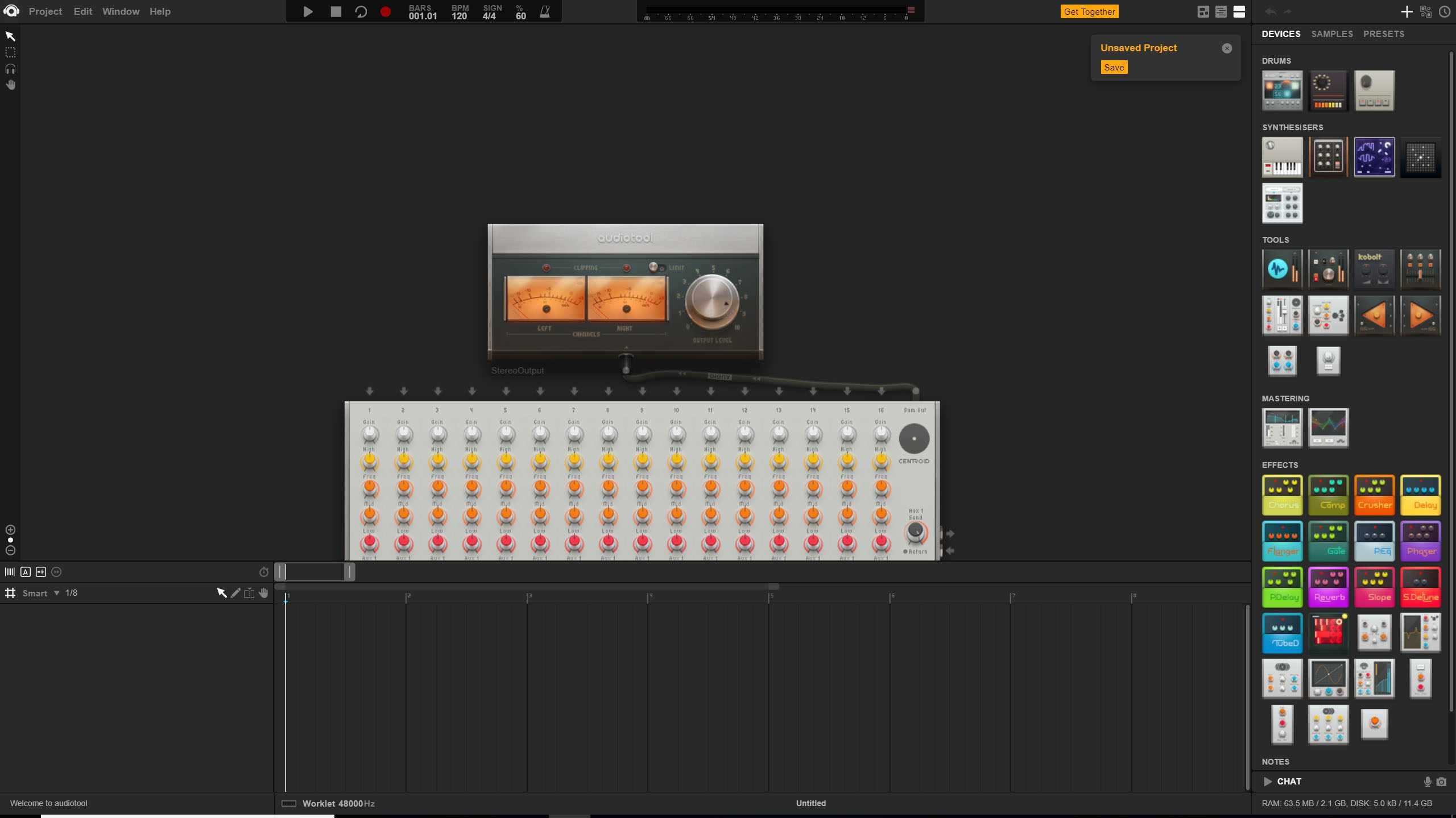 Audiotool Music Production app