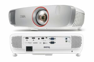 BenQ HT2150ST Short Throw DLP Projector - Front/Rear Views