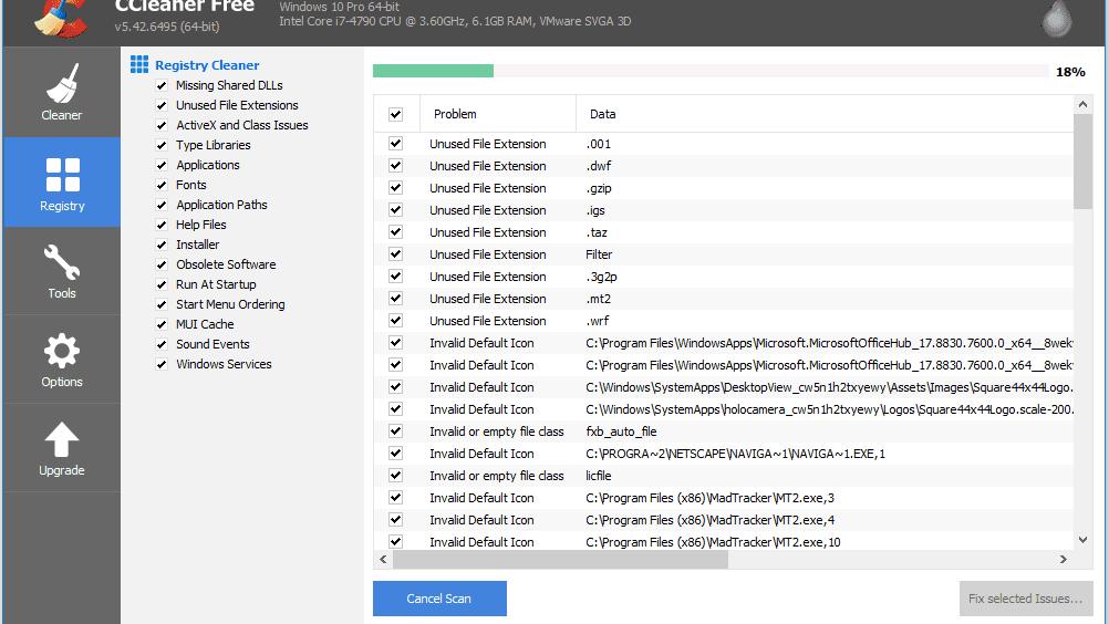 ccleaner setup virus