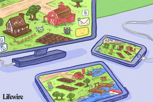 Farmville on PC, tablet and smartphone