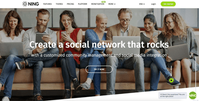 Ning website