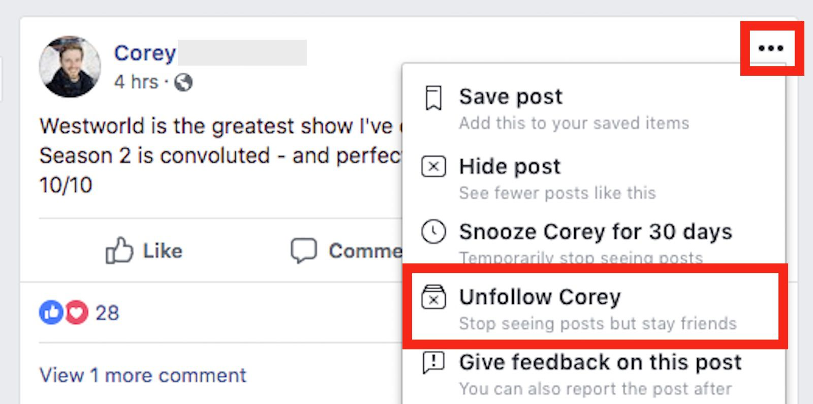 How to Hide Facebook Posts From Your News Feed