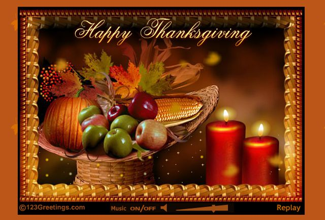 11 free thanksgiving ecards to send to friends family a happy thanksgiving ecard with music and video m4hsunfo