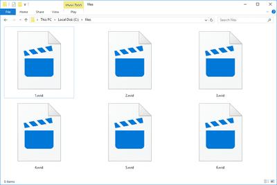 XVID files in Windows 10