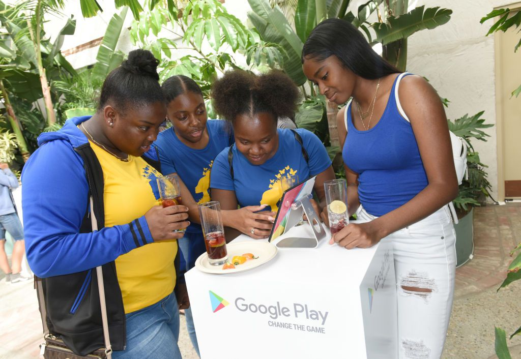 Attendees at the Google Play 'Change the Game' VIP event at E3 in 2018.