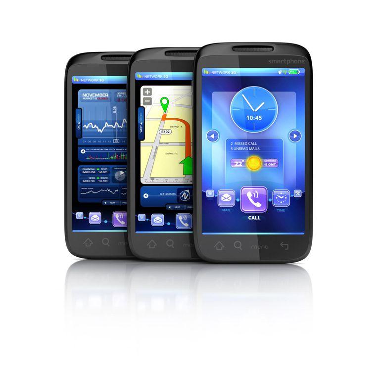 Smartphones interface