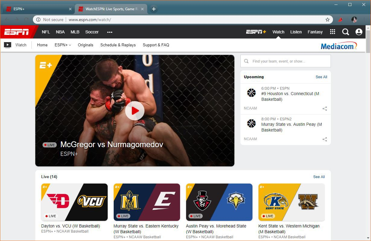 How to Live Stream UFC Fights With ESPN+
