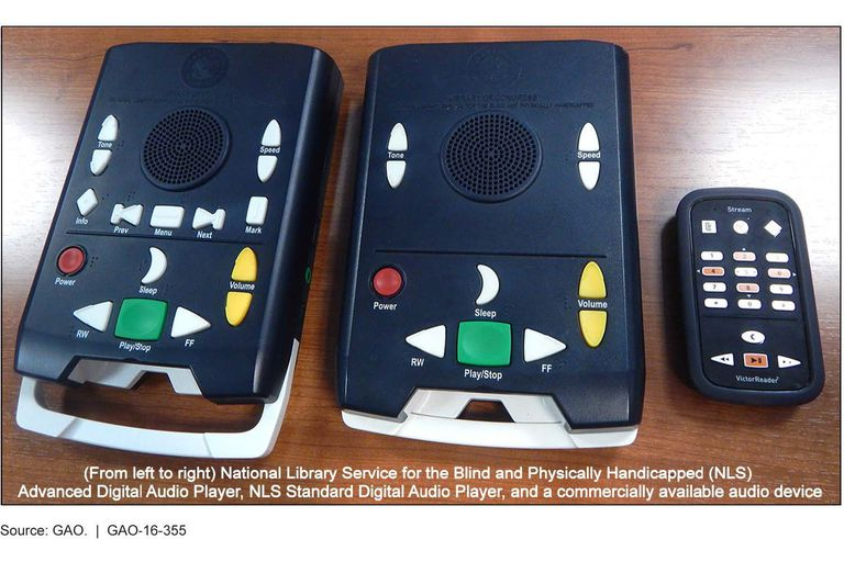 National Library Service for the Blind and Physically Handicapped Advanced Digital Audio Player