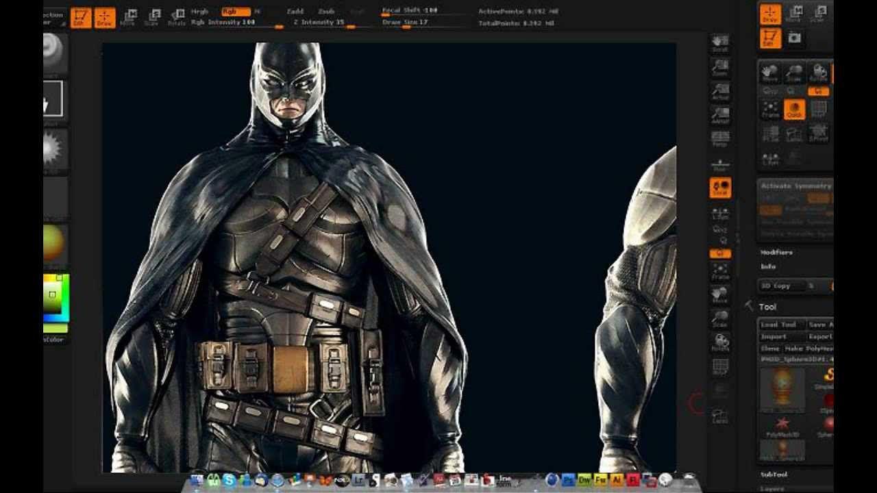 ZBrush screen shot