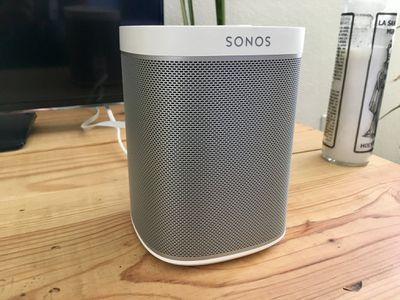 Sonos One white speaker